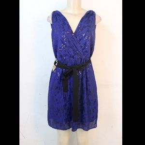 Express Sequin Party Dress sz Small